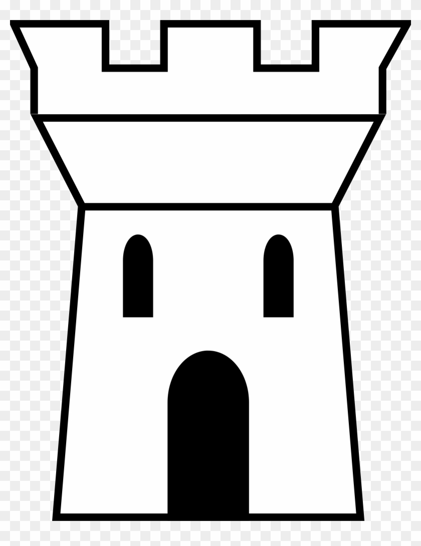 Castle Tower Drawing At Getdrawings - Castle Tower Logo Outline #255834