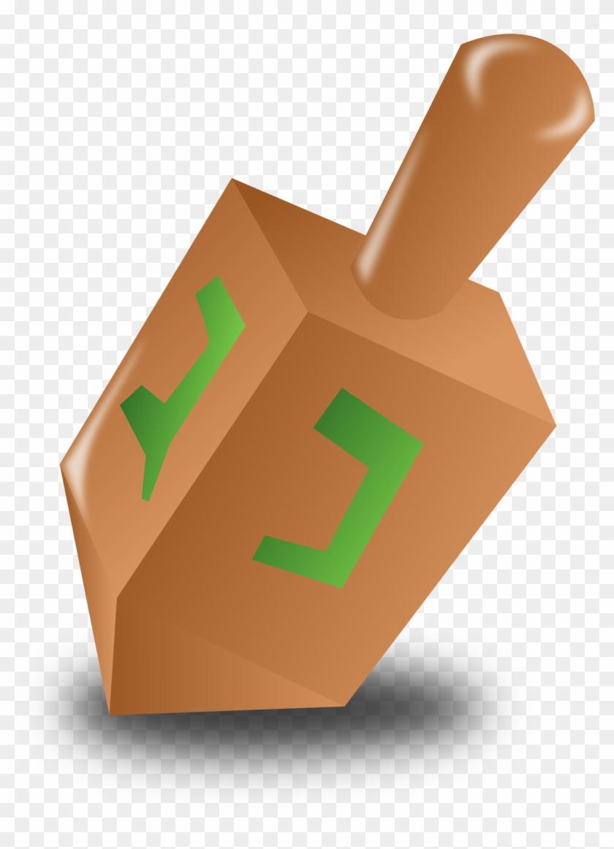 Hanukkah Icon - Dreidel Clipart Png #255856