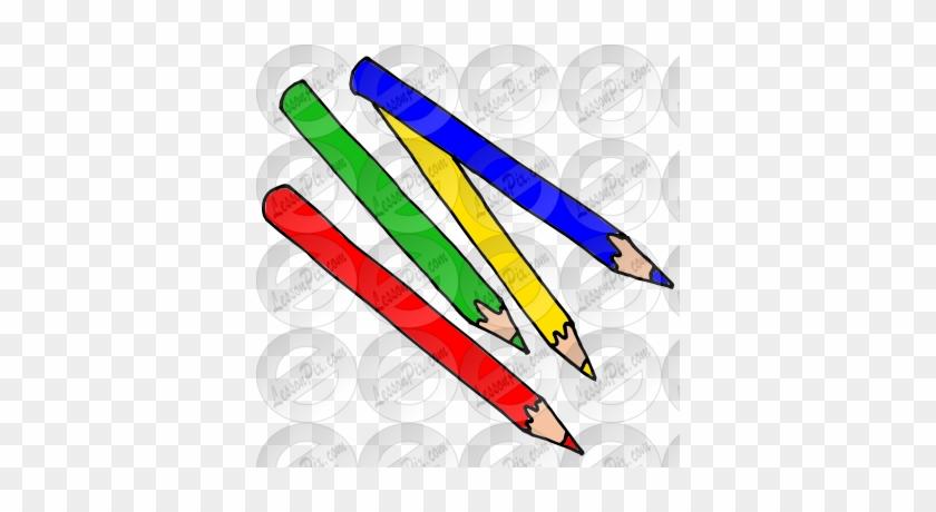 Colored Pencils Picture - Colored Pencil #255926