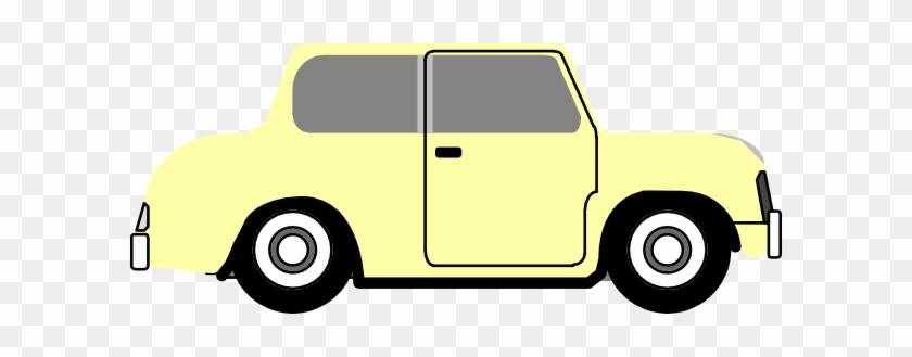 Yellowish Color Car Clip Art Transparent Cartoon Car Side Free