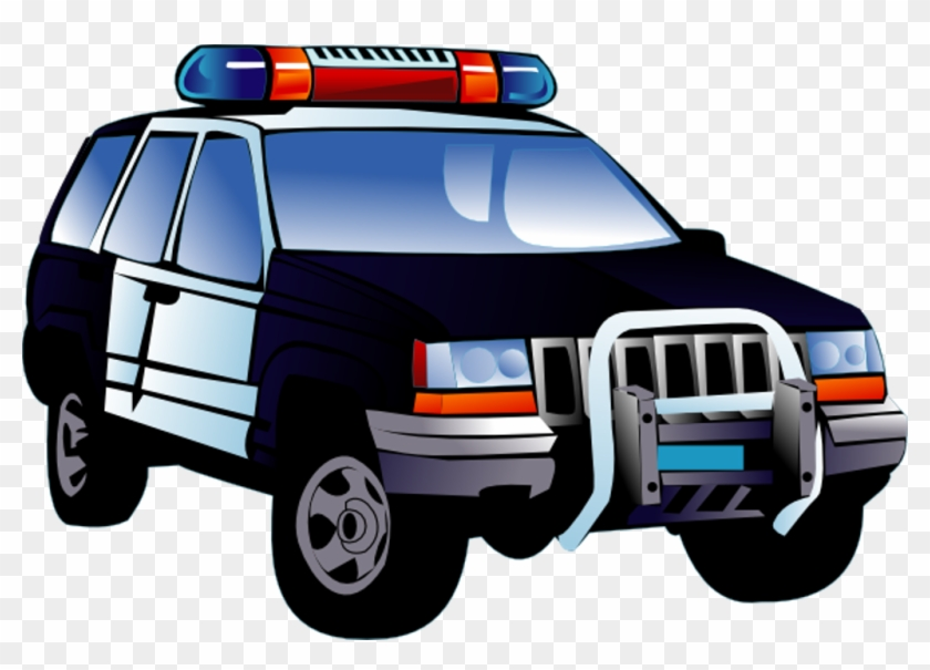 Creating Car Clip Art - Police Car Clip Art #256470