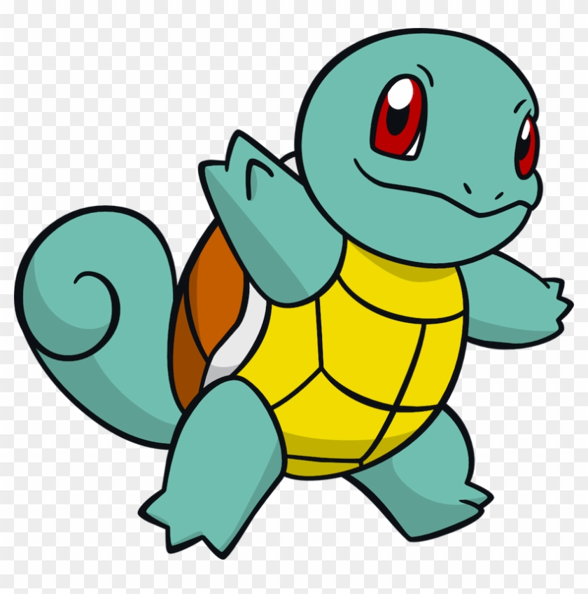 Squirtle Pokemon Coloring Page - Free Pokémon Coloring Pages ... | 848x840