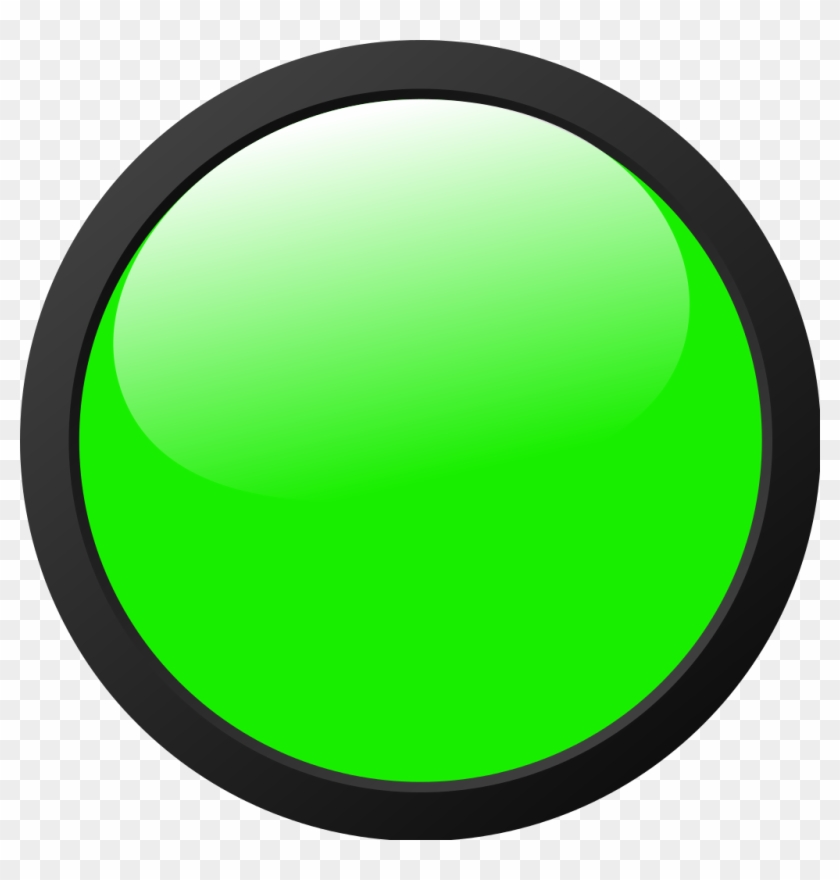 Px Green Light Icon Free Images At Clker Com Vector