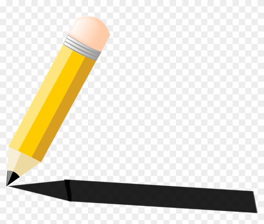 Pen Pencil, Writing, Write, Shadow, School, Pen - Shadow Of A Pen #257148