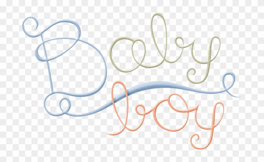 Png Para Gráficas De Baby Shower - Png Baby Word Art #257218