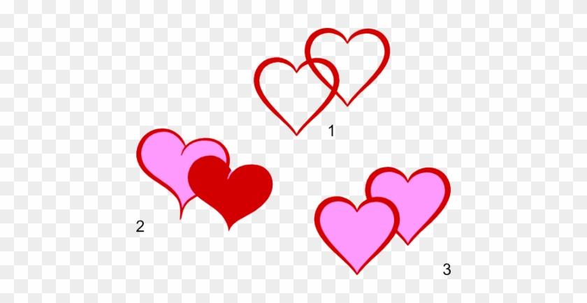 Ces Motifs De Coeurs Arrivent Au Bon Moment, Avec La - Double Heart Svg Free #1656955