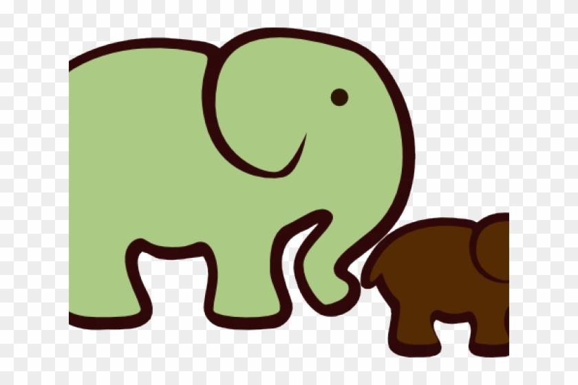 Baby Shower Pink Elephants #1657199