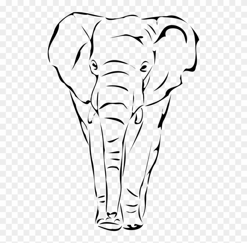 Free Elephant - Free Elephant Face Png #1657323