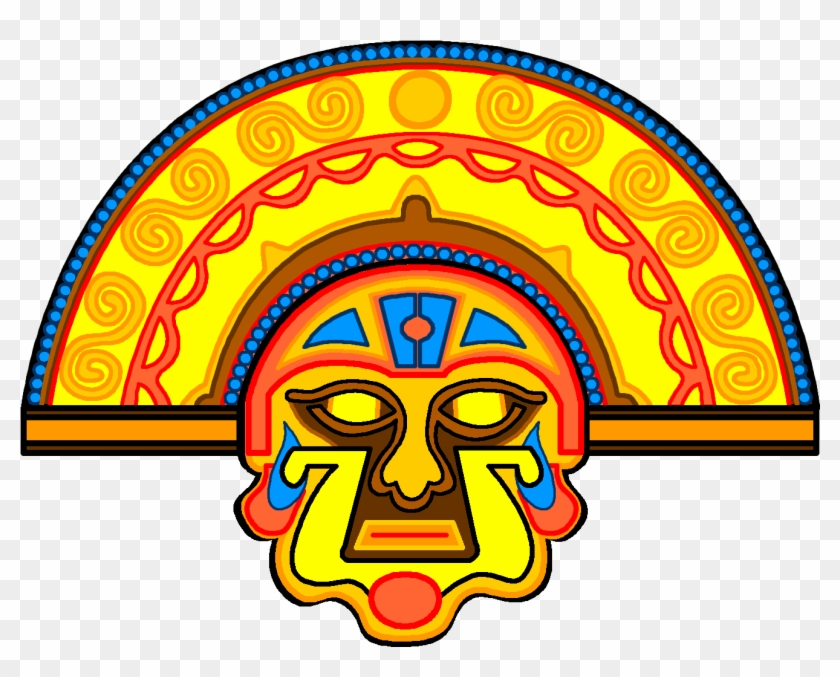 Civilizations In The Americas - Inti The Sun God Png #1658213