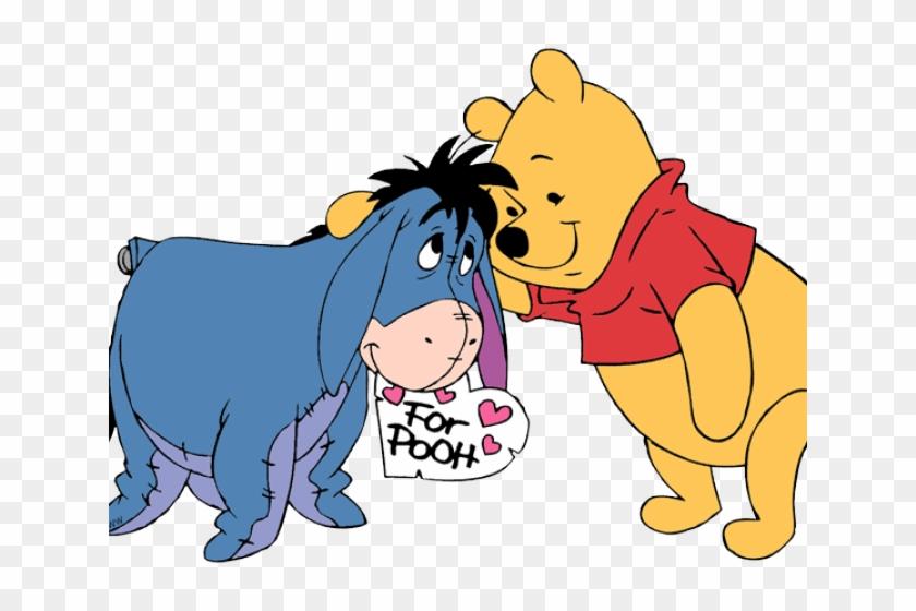 Winnie The Pooh Clipart Eeyore - Winnie The Pooh And Eeyore Png #1659448