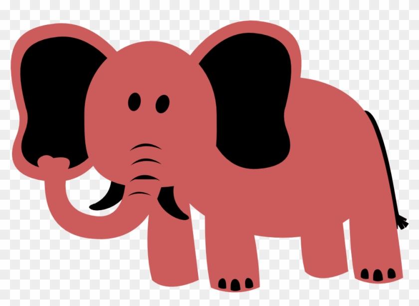 Free Image On Pixabay - Purple Elephant Clipart #1660128