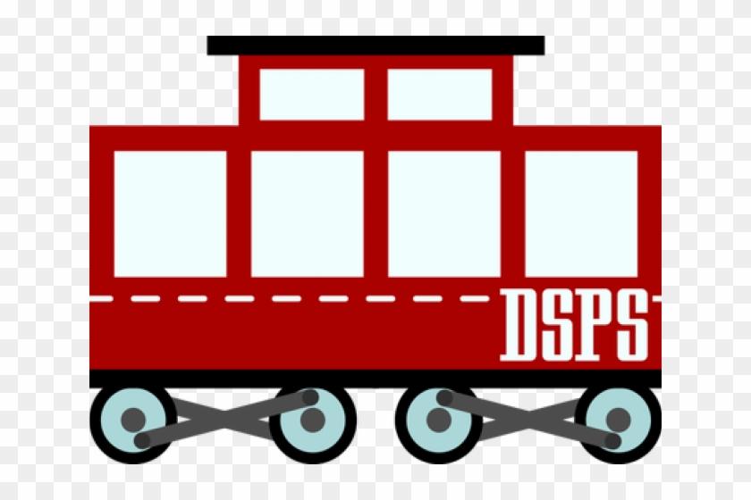 Wagon Clipart Wagon Train - Train Wagon Cart Vector #1660304