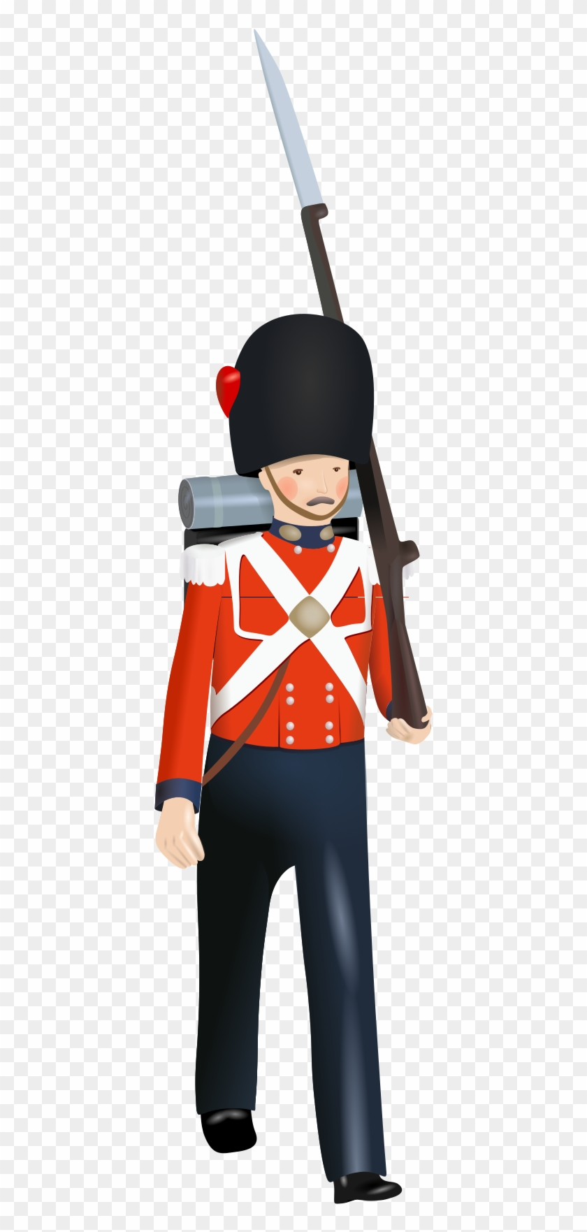 File - Toy Soldier - Svg - Toy Soldier Icon #1660795