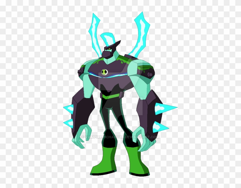 Ben 10 Omni Enhanced Diamondhead 2 By Vampirerichard69 Ben 10 Omni Enhanced Diamondhead Free Transparent Png Clipart Images Download
