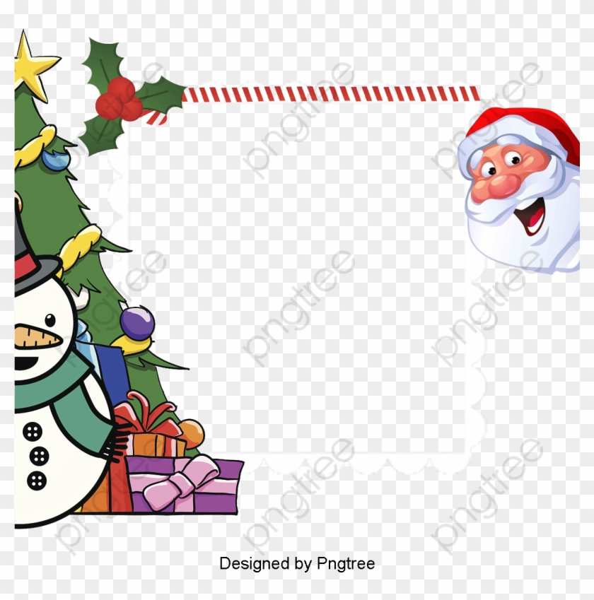 Transparent Christmas Border Png Format Image With - Cute Border Clip Art Christmas #1662463