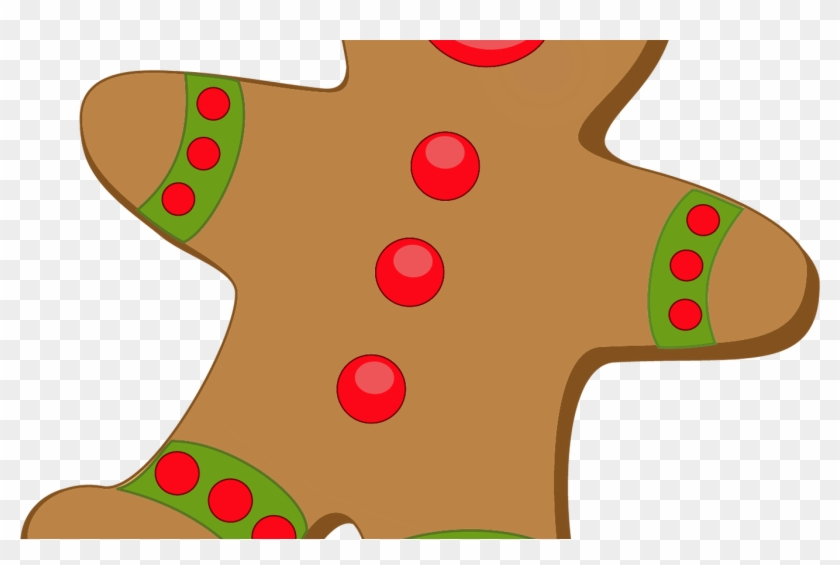 Free Christmas Gingerbread Cliparts, Download Free - Gingerbread House Candies Clip Art #1663460
