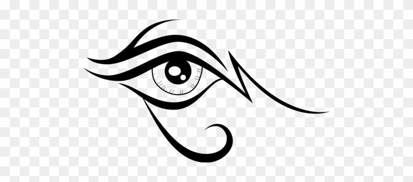 Eye,eye - Lion Eye Vector #1665060