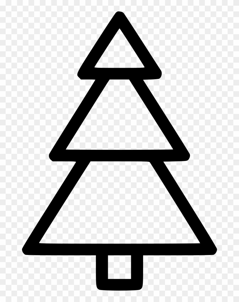 Christmas Tree Comments - Triangle #1665655