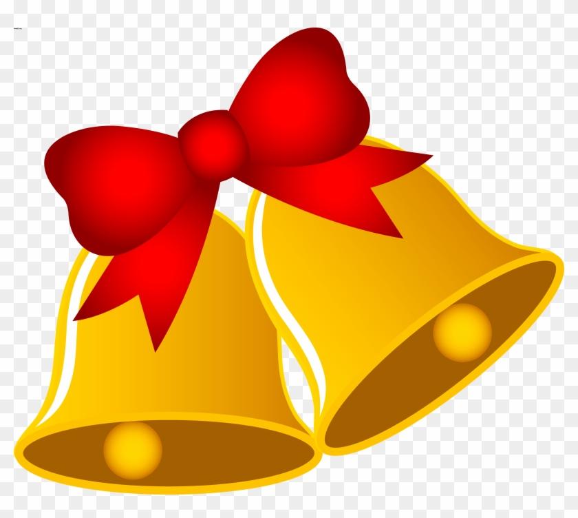 Christmas Tree Clipart Free - Clip Art Christmas Bells #1670803