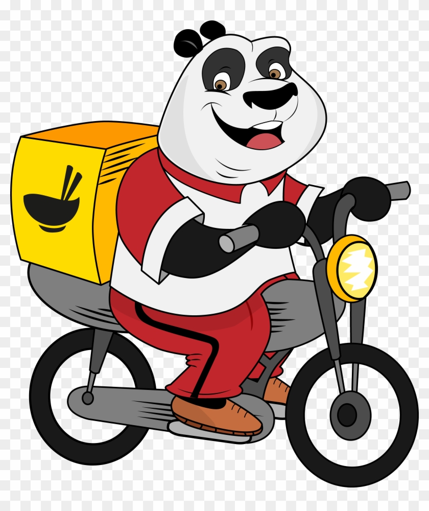 How Panda Became A Delivery Boy - Delivery Foodpanda #1670938