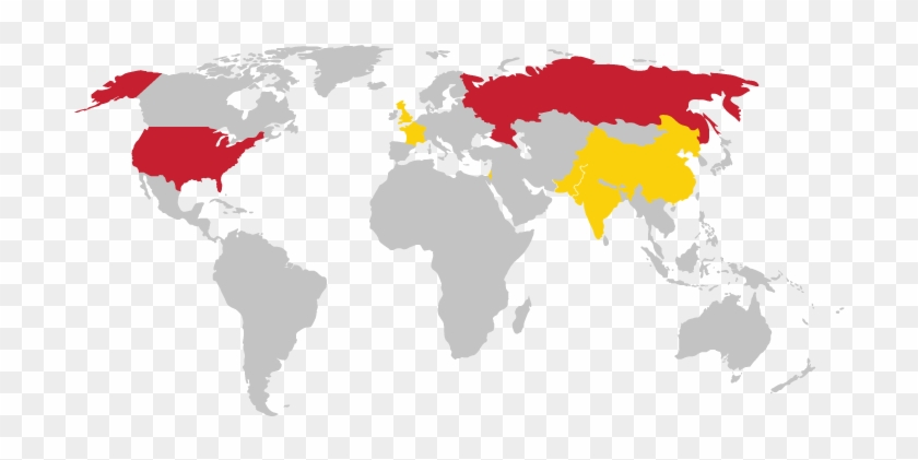 Us Military Bases In Korea Map World Nuclear Weapon Nice World Map - Us-military-world-map