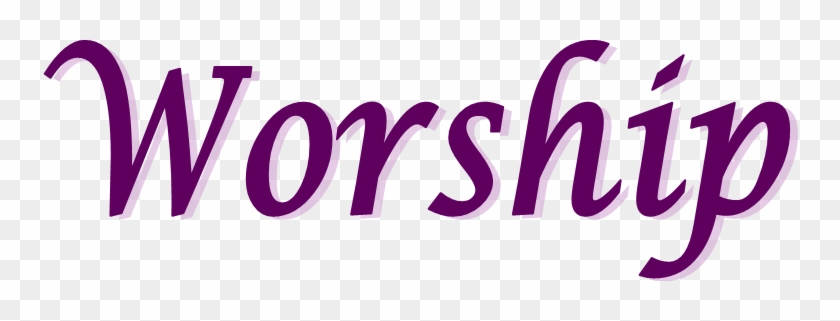 Word Praise And Worship - Free Transparent PNG Clipart Images Download