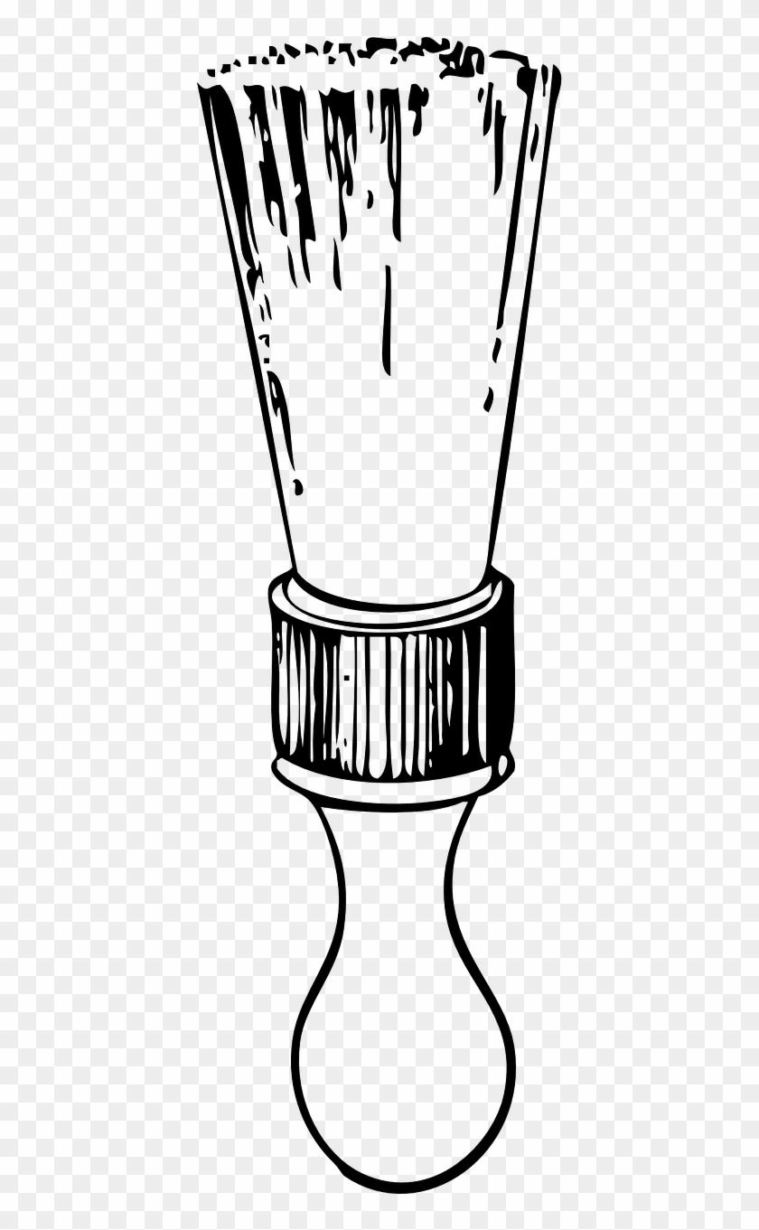 Shaving Cream Brush Pincel De Barbear Desenho Png Free