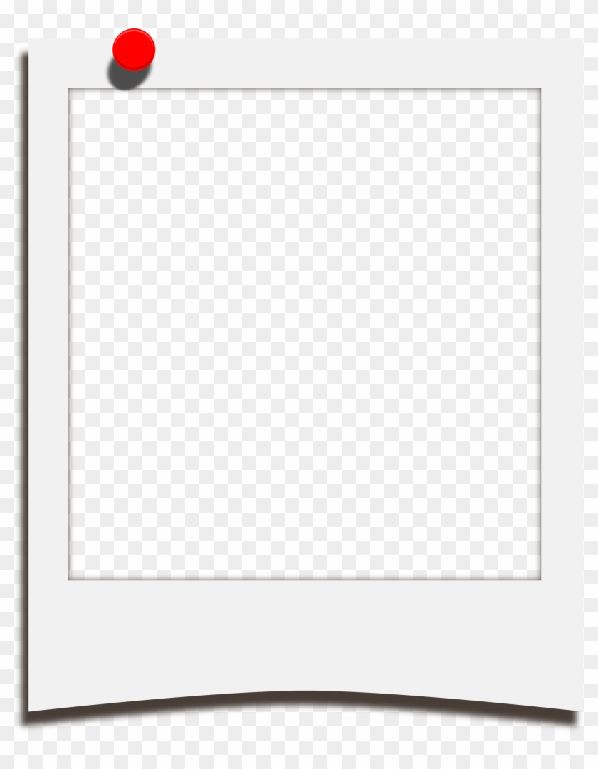 19 Clip Photo Polaroid Frame Huge Freebie For Powerpoint - Polaroid Template With Clip #1674636