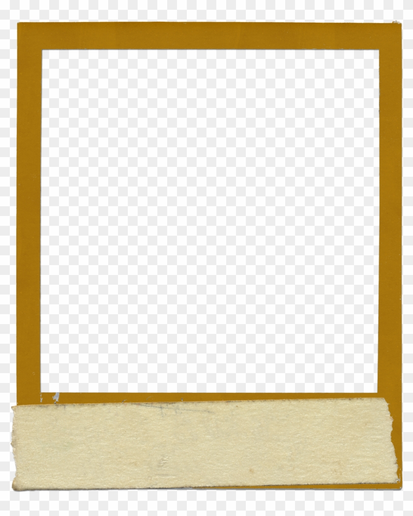 Vintage Polaroid Frame Png - Old Polaroid Frame Transparent #1674643