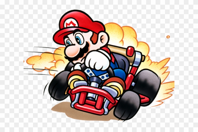 Nintendo Clipart Mario Background Super Mario Kart Official Artwork Free Transparent Png Clipart Images Download