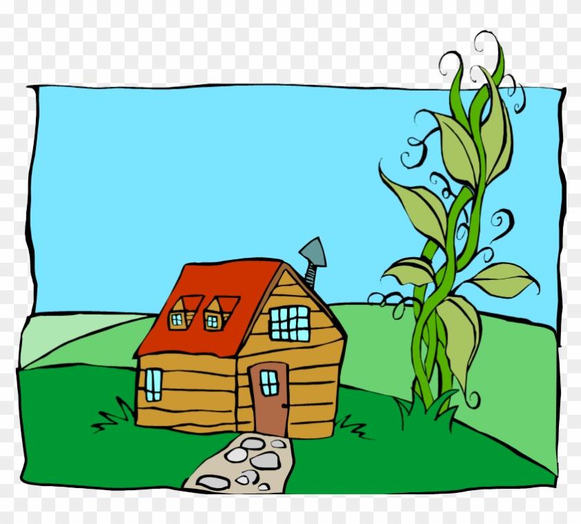 Porchester Junior School Presents - Jack And The Beanstalk House Clipart #1676331