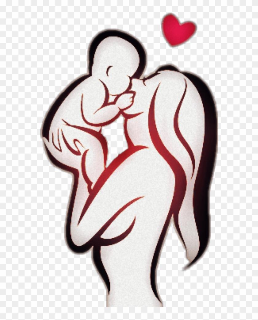 Amor Puroamor Love Mom Son Momlove Lovemom Mother Mothe - Mom Baby Tattoo Design #1676972