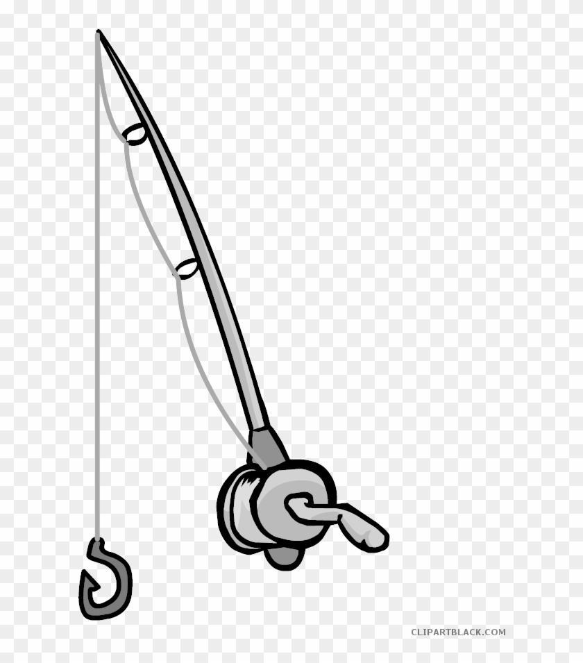 Download Fishing Rod Clipart Fishing Rod Clipart Black And White Free Transparent Png Clipart Images Download