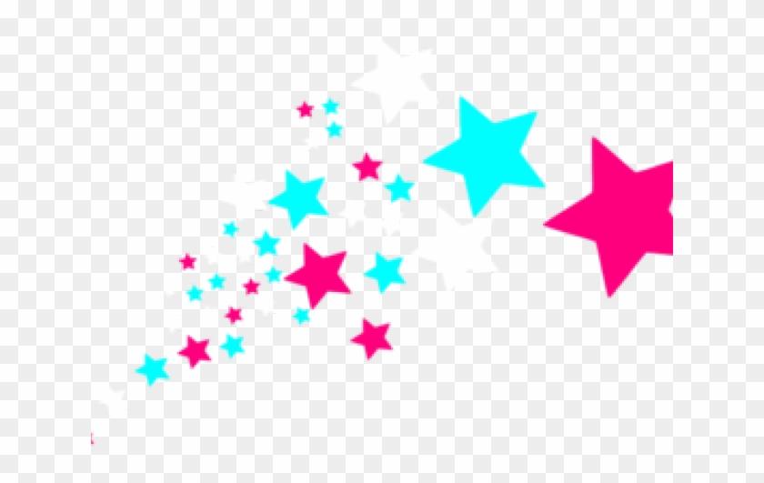 Falling Stars Clipart Border - Clip Art Shooting Stars #1679128