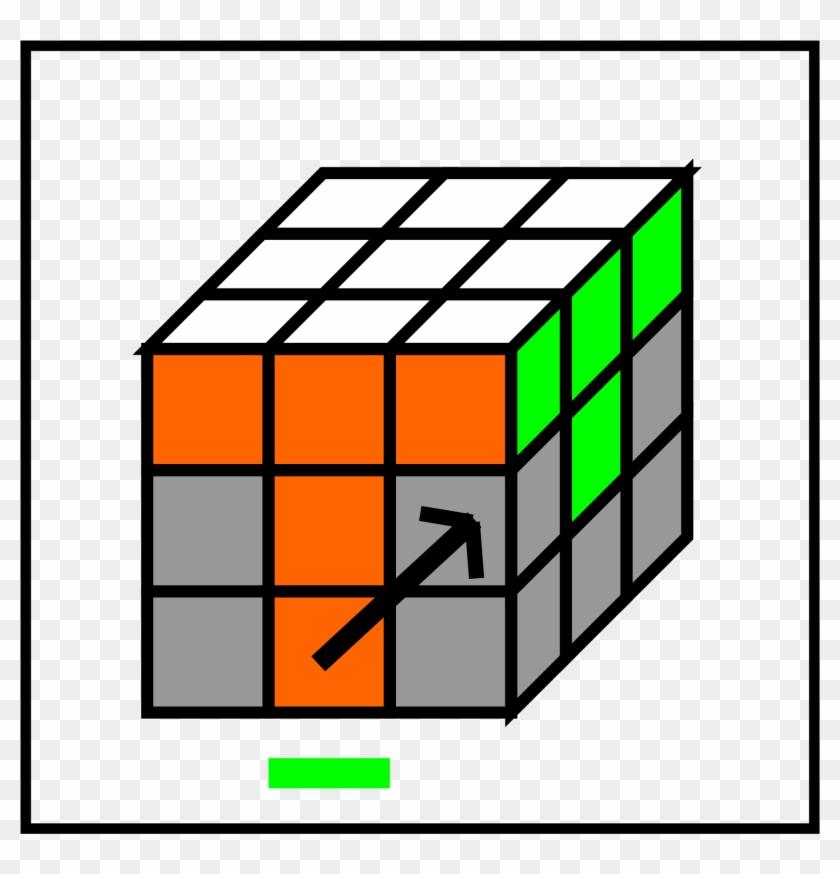 Open - Rubix Cube Blue Side #1680010
