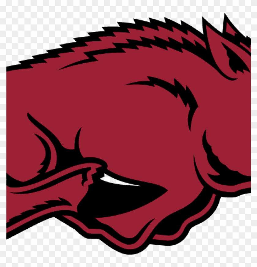 Razorback Symbol Filearkansas Razorback Logo 2001 Wikimedia - University Of Arkansas Hog #1682042