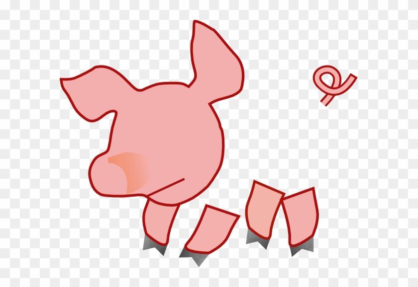 Fat Pig 1 Clip Art At Clker - Pig Clip Art #257251