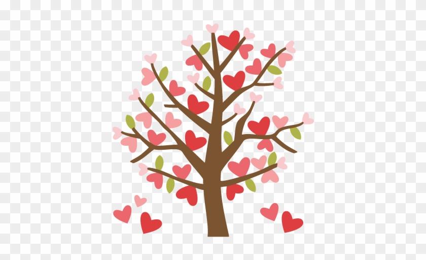 Cute Wedding Pictures Clip Art - Valentine Tree Clip Art #257298