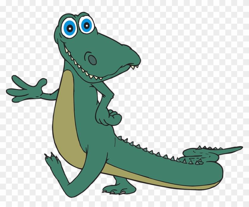 Vector Drawing Of Vrksasana Yoga Pose - Alligator Clipart Png #257382