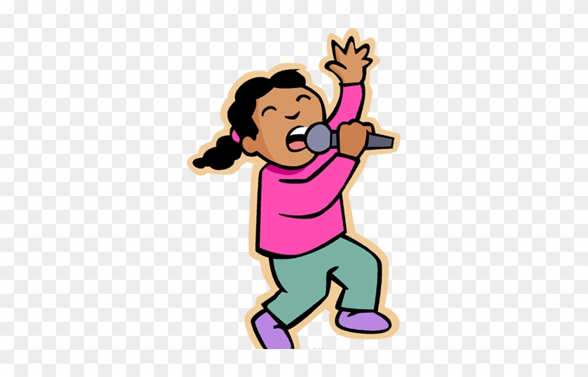 Stage Fear Is Something Every Singer Has Experienced - Singing Clipart #257391