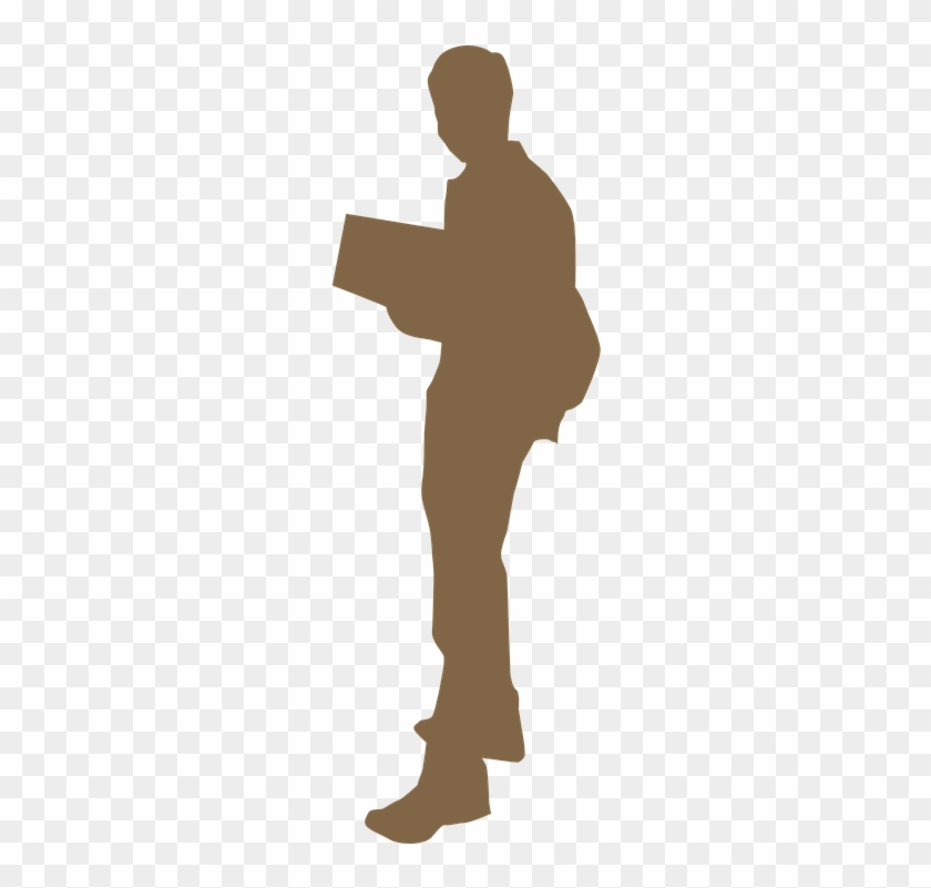 Reader, Book, Man, Reading, Boy, People, Silhouette - People Reading Png Silhouette #257565