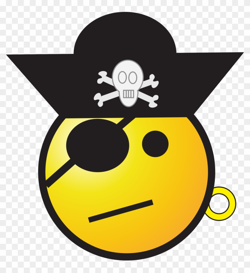Boy Pirate Images - Truly Teague Throw Pillow Smiley Face Pirate #257670