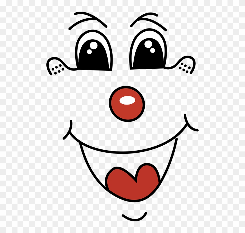 Cartoon, Children, Clown, Comic, Comic Characters - Smile Clown Clipart Png #257913