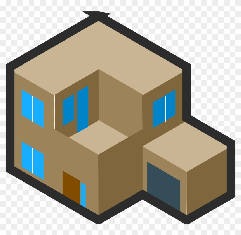Big Image - Isometric Drawings Of Houses #258115