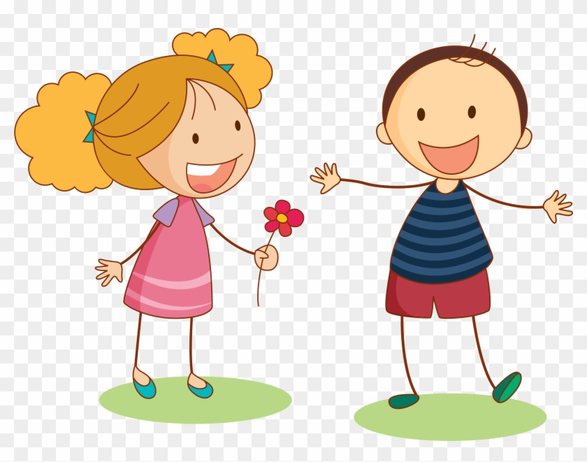 Child Clip Art Cartoon Girl And Boy Png Free Transparent Png - Cartoon-boy-images-free
