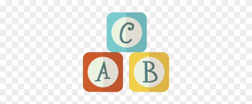 Baby, Boy, Girl, Kid, Toy, Abc, Alphabet Icon - Brinquedos