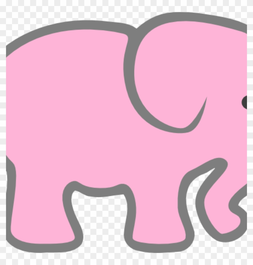 Elephant Clipart Baby Shower Pink Elephant Clip Art Pink Elephant Cut Out Free Transparent Png Clipart Images Download