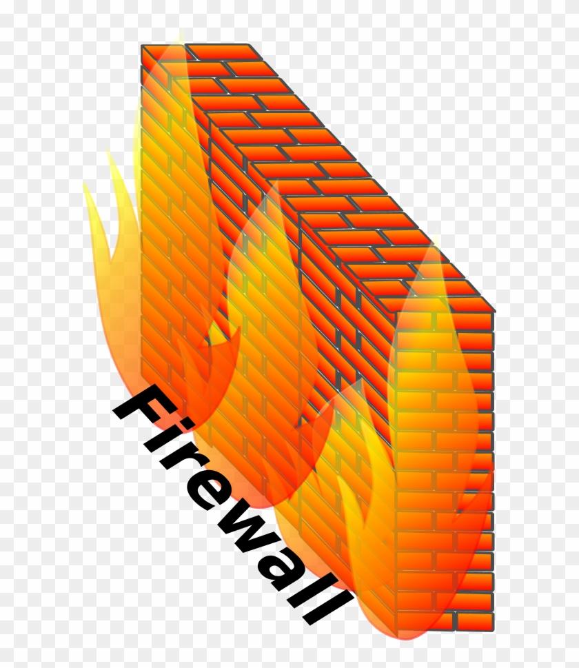 Vector Clip Art - Firewall Clipart #258249
