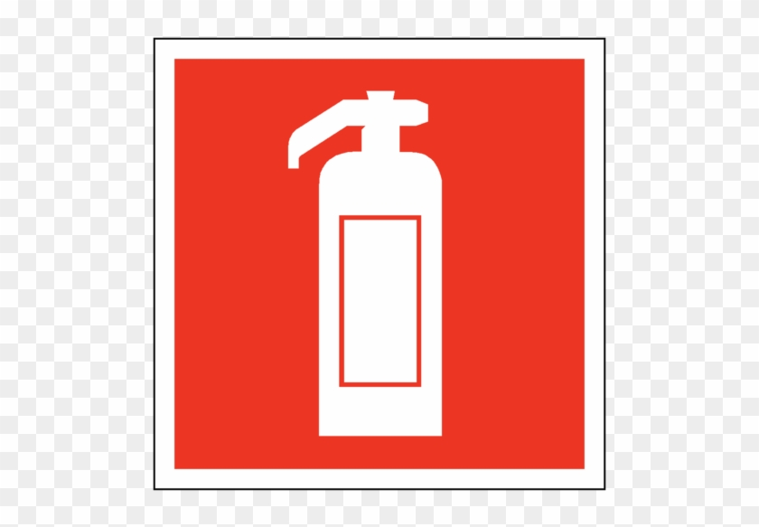 Fire Extinguisher Symbol Safety Sticker - Safety Sign Fire Extinguisher #258302