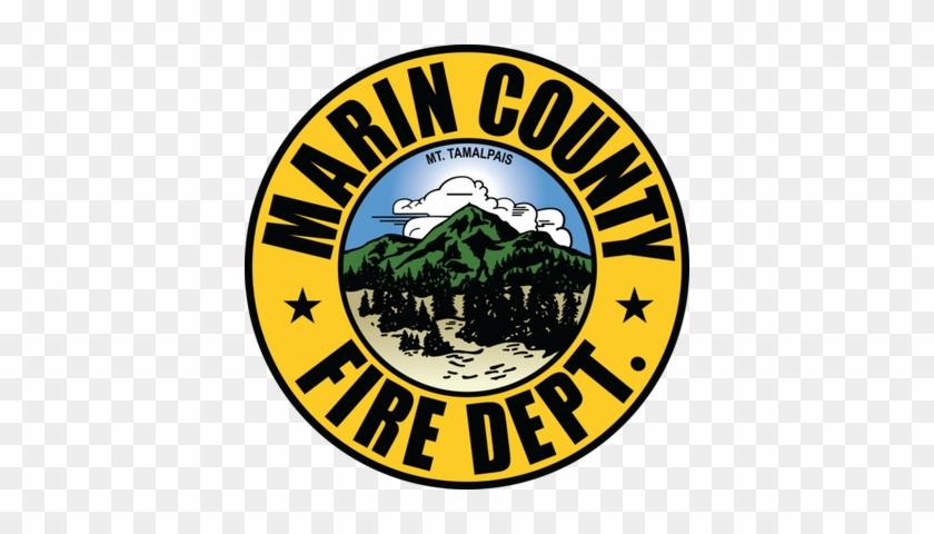 Marin County Fire - Marin County Fire Department Logo #258324
